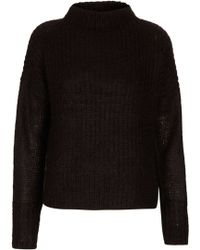 Topshop Angora Knit Jumper By Boutique - Lyst