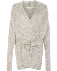 Bench Wrap Sweater - Natural