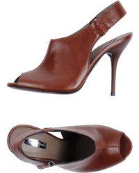Calvin Klein Collection High-Heeled Sandals - Lyst