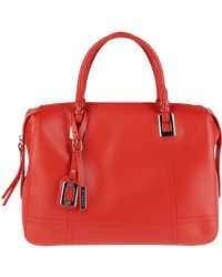 Nicoli - Large Leather Bag - Lyst