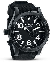 Nixon 51-30 Leather - Star Wars Collection - Black