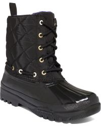 Sperry Top-Sider Sperry Women'S Gosling Quilted Rain Boots - Lyst