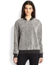 Timo Weiland   Textured Bomber Jumper   Lyst