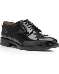 Valentino Rubber Stud Oxford Shoes - Lyst