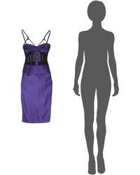 John Richmond Kneelength Dress - Purple