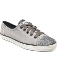Keds - Rally Glitter Toe Trainers - Lyst