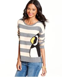 Keds - Longsleeve Striped Penguin Pullover - Lyst