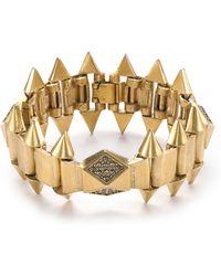 Sam Edelman - Spike Pave Flex Bracelet - Lyst