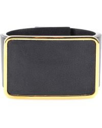 Marni Leather Cuff Bracelet - Lyst