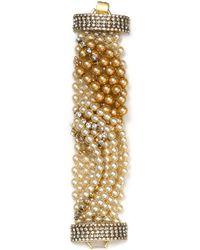Aerin Erickson Beamon Multistrand Draped Bracelet - Metallic