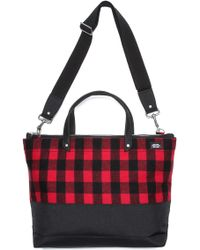 Jack Spade - Dipped Buffalo Check Utility Tote - Lyst