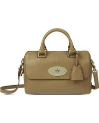 Mulberry Lana Del Rey Natural Leather Tote Brown - Lyst