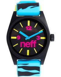 Neff - Daily Watch Blue Tiger - Lyst