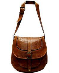 Patricia Nash Barcellona Leather Saddle Bag - Lyst