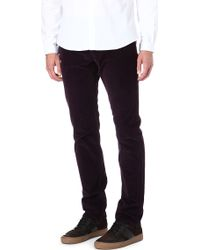 The Kooples Sport - Regularcut Velvet Jeans - Lyst