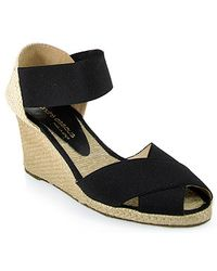 Andre Assous   Elasticized Mid-wedge Espadrille   Lyst
