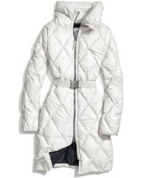 COACH Long Legacy Puffer Jacket - White