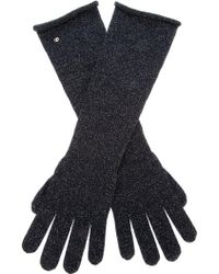 Giorgio Armani - Giorgio Armani Long Wool Knit Gloves - Lyst