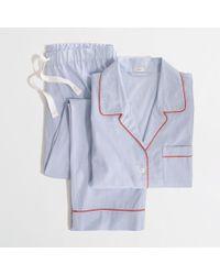 J.Crew Factory Endonend Pajama Set - Lyst