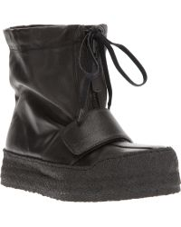 KENZO Kenzo Slouch Boot - Black