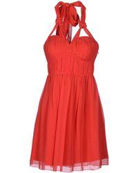 Lipsy Short Dress - Lyst