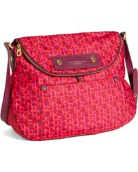 Marc By Marc Jacobs Preppy Nylon Printed Sasha Crossbody Bag - Lyst