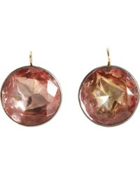 Olivia Collings - Foiled Citrine Drop Earrings - Lyst