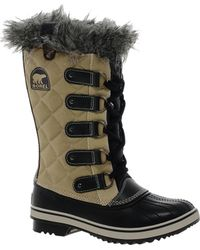 Fred Perry - Sorel Tofino Cate Quilted Faux Fur Cuffed Boots - Lyst