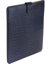 Zagliani - Crocodile Tablet Slipcover - Lyst