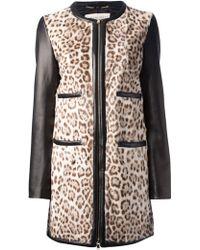 Emilio Pucci - Leopard Print Coat - Lyst