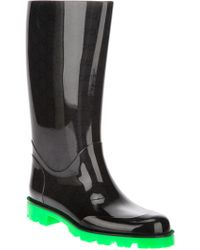 Gucci Edimburg Rain Boot - Black