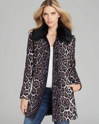 Juicy Couture - Coat Flowing Leopard - Lyst