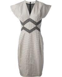 Spijkers En Spijkers - Taft Polka Dress - Lyst