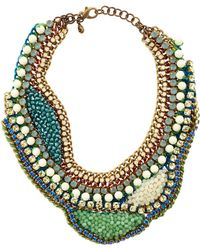 Sveva Collection | Green Liz Taylor Necklace | Lyst