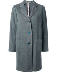 Boglioli - Button Up Cashmere Coat - Lyst