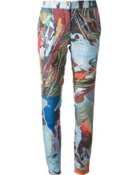 Chalayan Printed Trouser - Lyst
