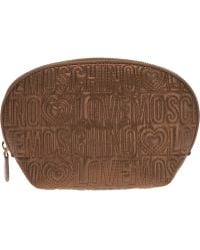 Love Moschino - Logo Make Up Bag - Lyst