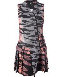 McQ by Alexander McQueen Printed Scuba-Jersey Dress - Lyst