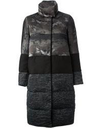 Moncler Gamme Rouge Kittel Coat - Gray