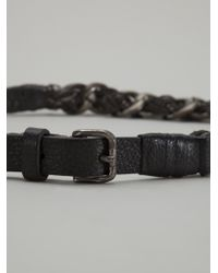 Post & Co - Metal Chain Belt - Lyst