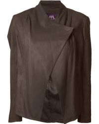 Rachel Roy - Leather Jacket - Lyst