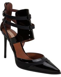 Reed Krakoff Strappy Pointed Toe Heel black - Lyst