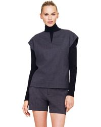 Club Monaco Jamie Wool Shirt - Lyst