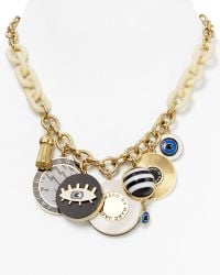 Marc By Marc Jacobs Dynamite Charm Necklace 185 - Black