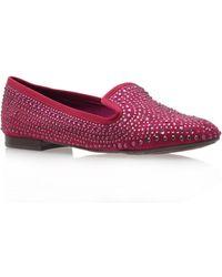 Nine West Lovemi Flat Embellished Slipper Shoes - Lyst