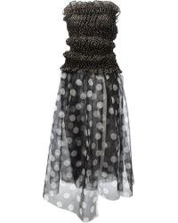 Tao Comme Des Garcons Archive Polka Dot Dress - Lyst