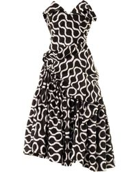 Vivienne Westwood Gold Label Exclusive Blossom Squiggle-print Dress - Lyst