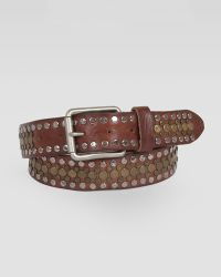 Will Leather Goods - Singer Studded Leather Belt - Lyst