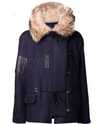 Yigal Azrouël - Oversized Hood Coat - Lyst