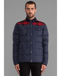 Penfield Rockford Lightweight Insulated Jacket in Navy - Lyst
